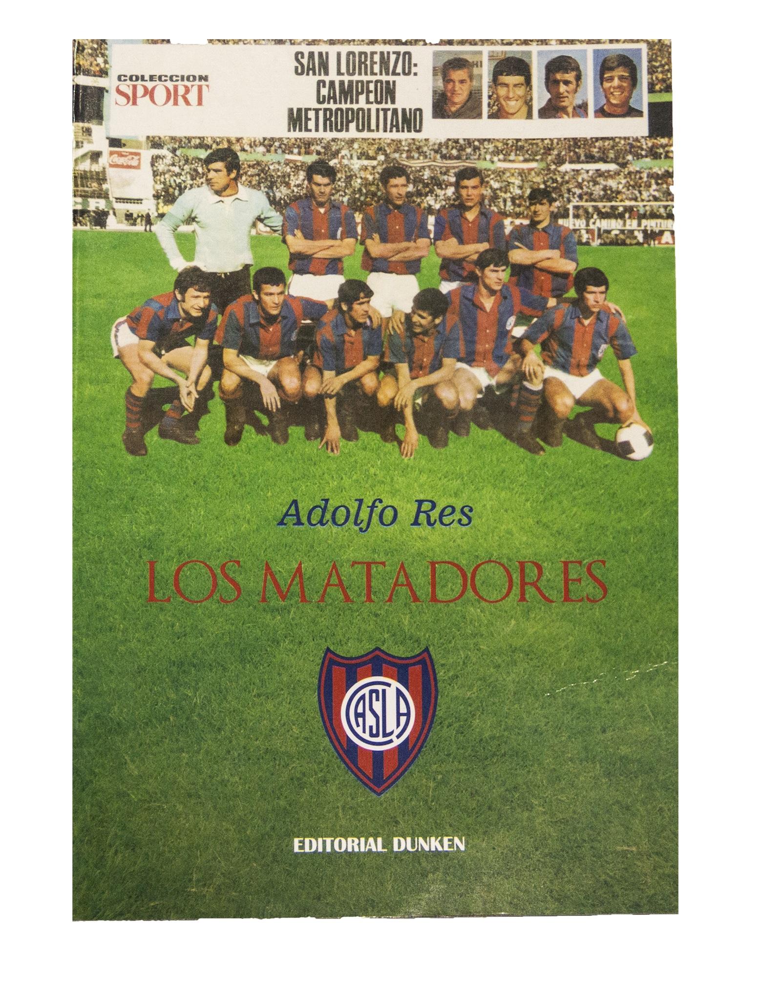 """""""LOS MATADORES"""" El libro"""