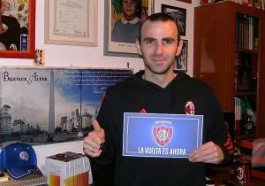 Andres escribe desde Italia.