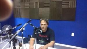 Diego en la radio