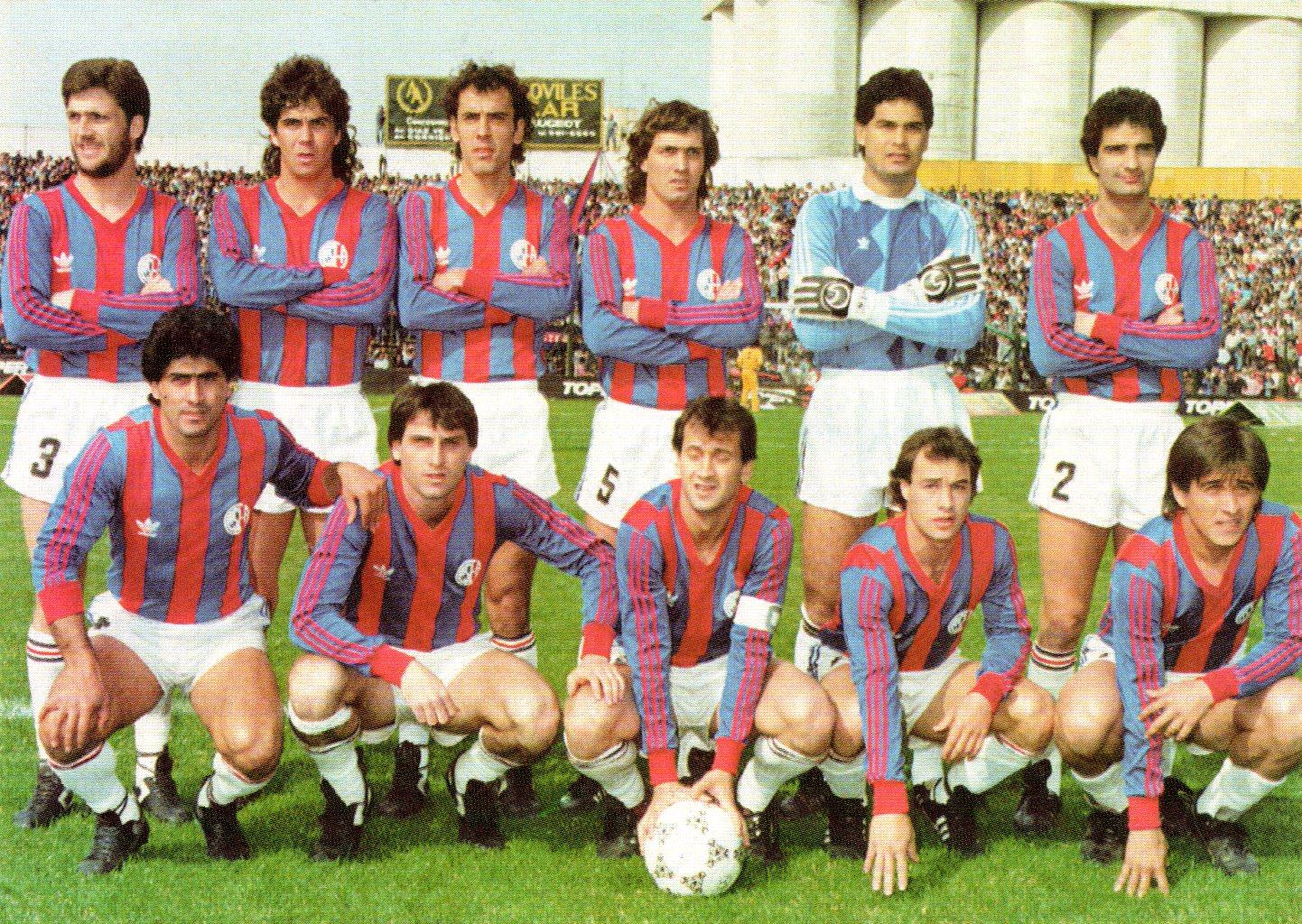 San Lorenzo Pre Libertadores 1988
