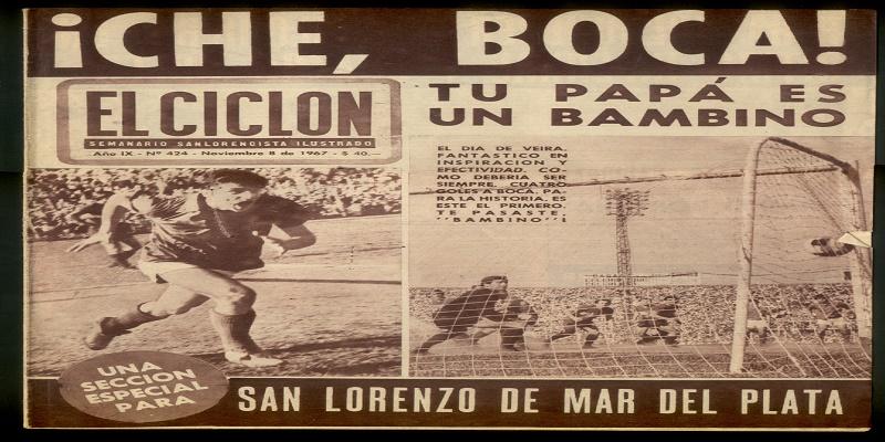 «La tarde de los cinco goles a Boca»