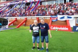 Adolfo y Diego en el NG el historico 23 D.