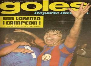 San Lorenzo Campeón 1974