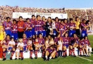 san lorenzo mercosur 2001
