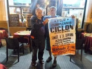 Adolfo y Gustavo ideologos de la primera Caravana Cumpleañera.