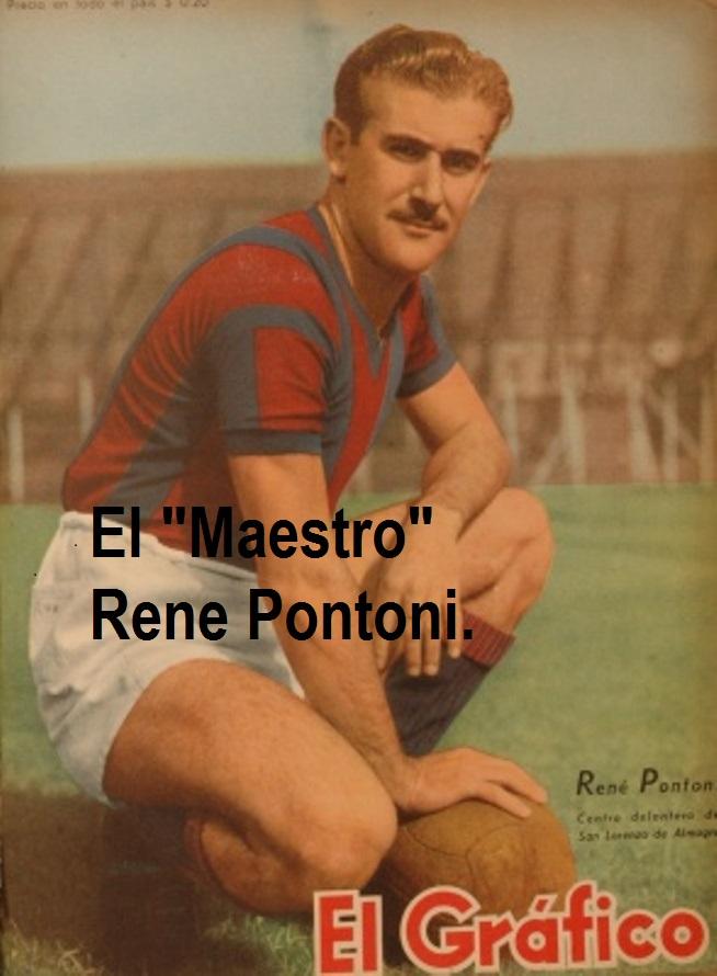 HOMENAJE  AL MAGO  RENÉ PONTONI.