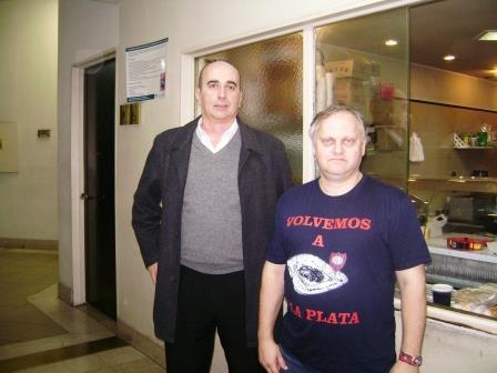 Adolfo Res y Daniel Peso.