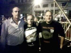Daniel Peso, Adolfo Res y Diego Resnik.