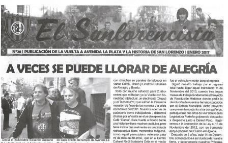 «El Sanlorencista» Nº 28.