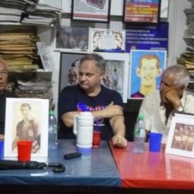 Alberto Rendo y Miguel Angel Tojo homenajeados.
