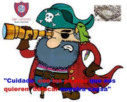 Audio del Programa N° 862 «Cuidado con los piratas que quieren defecar nuestra causa.»