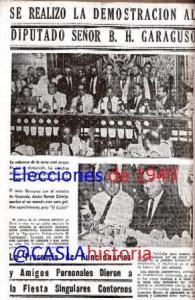 Elecciones 1949 Presentació