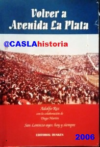 Libro Volver a Avenida La Plata
