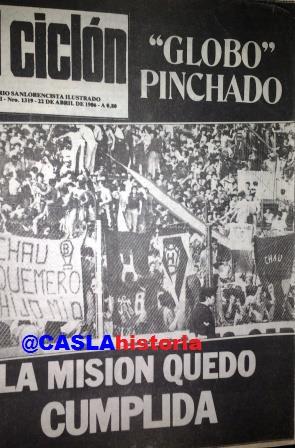Programa N° 974. » Recordamos la despedida de primera a Huracán en Parque de Los Patricios en 1986, Husillos,Reggi,Betinotti».