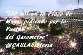 110 mil plaza de mayo 2