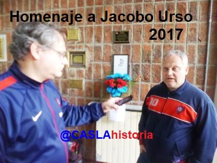 RECUPERANDO MEMORIA E IDENTIDAD  HOMENAJE A JACOBO URSO.