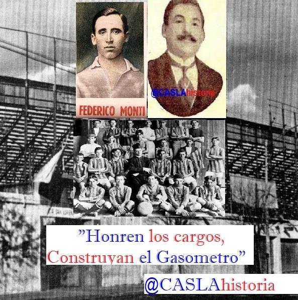 «Honren los cargos,Construyan el Gasometro en Avenida La Plata»