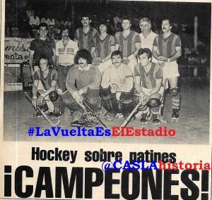 Hockey 1980 Campeón