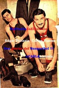 Dos glorias del Basquetbol azulgrana.