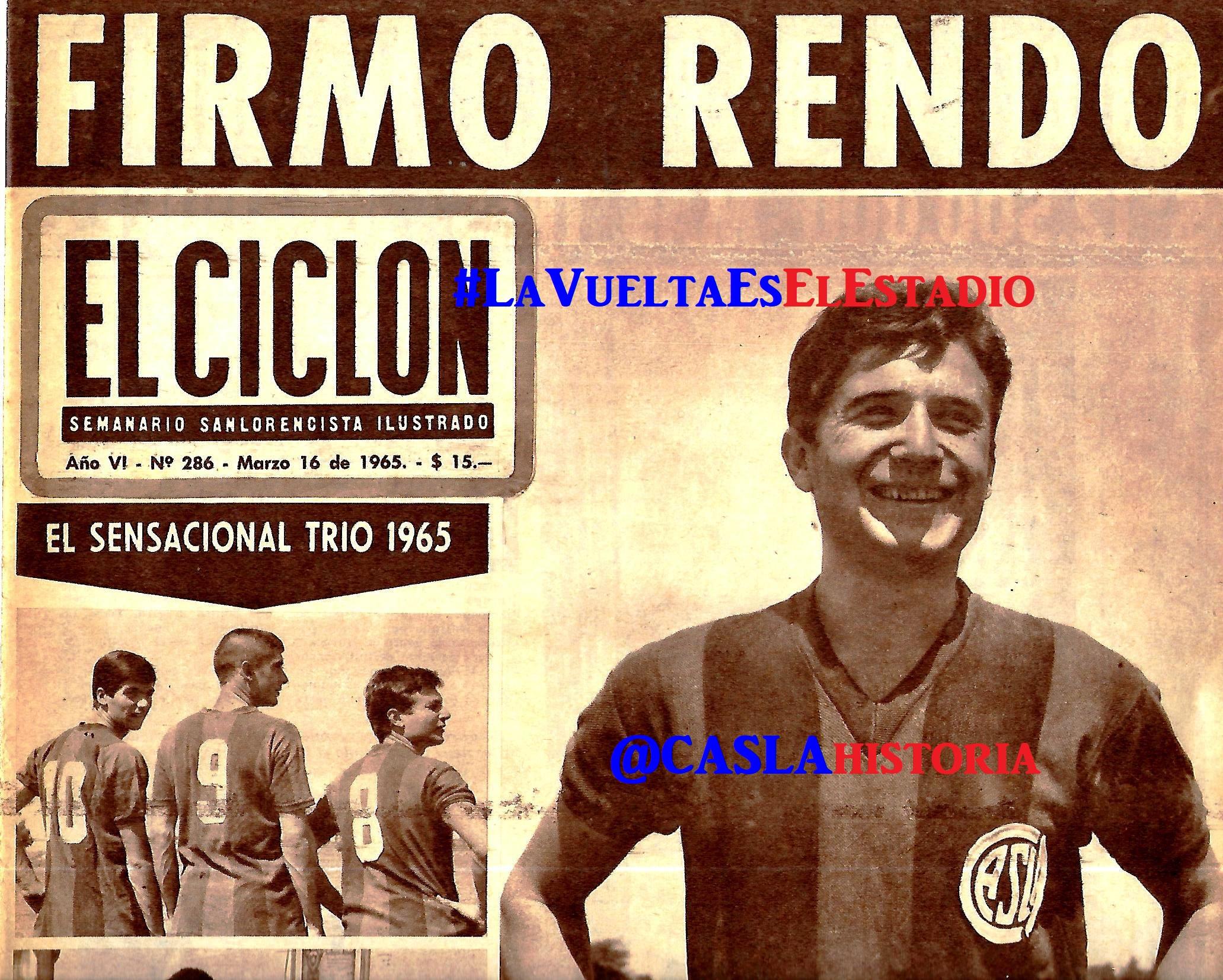 Programa N° 919. «Rendo,Duchini,D´Addario,Souto y victoria en la Boca»
