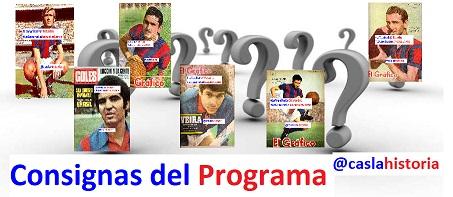 Consignas Programa N° 1027 !!!!