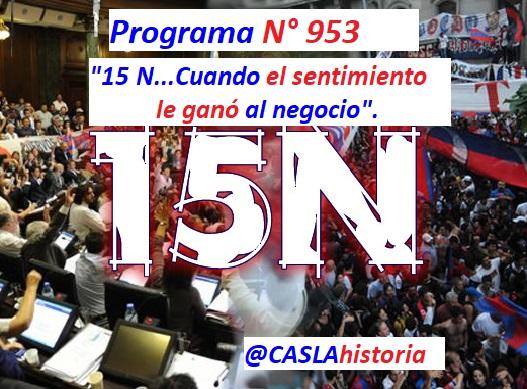 15 N Tapa N° 953