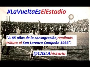 Vuelta Olímpica 1933