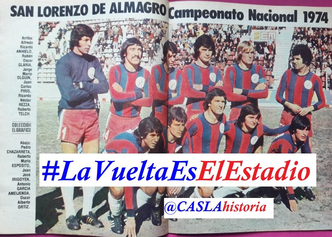 Programa N° 958. «El Campeón 1974,El «San Martin», Tercera del 54 y lo enviamos a Velez a la B».