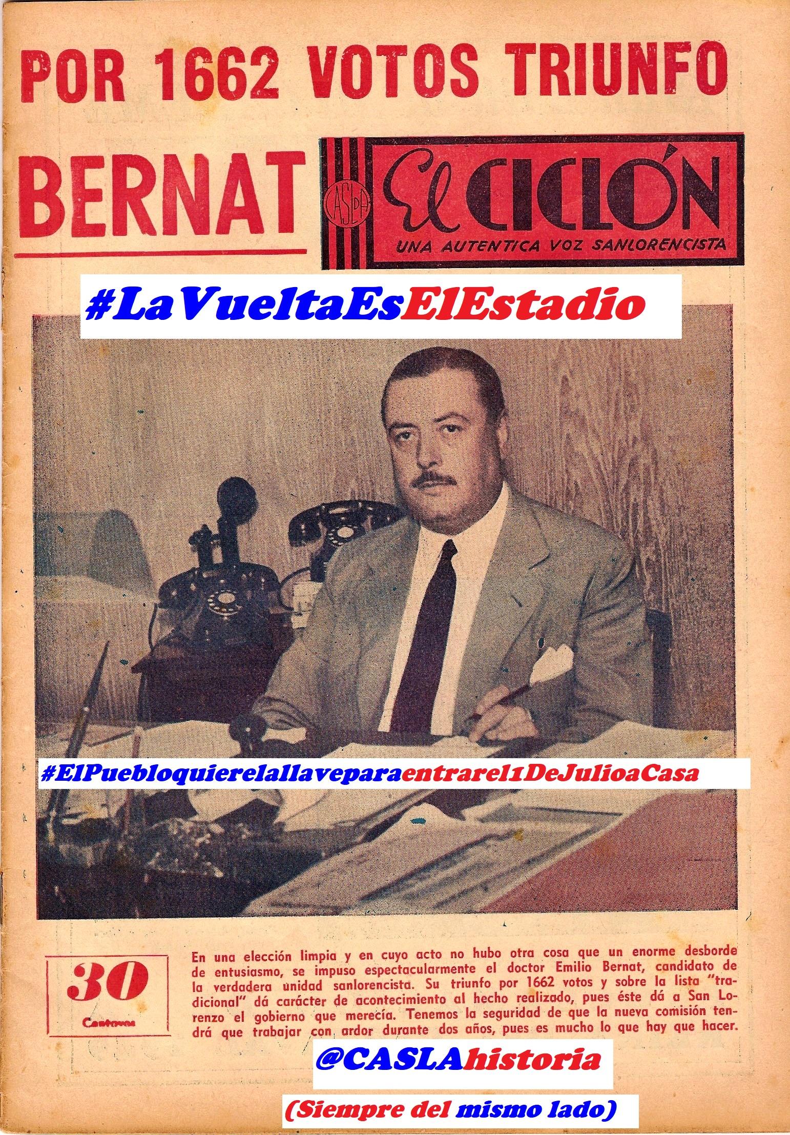 Programa N° 967.»El «Vasco» Carricaberry,Elecciones 1949,Remontada vs River y Ascenso en el Basquetbol»