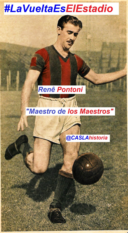 "HOMENAJE A  RENÉ PONTONI  ""MAESTRO DE MAESTROS"""