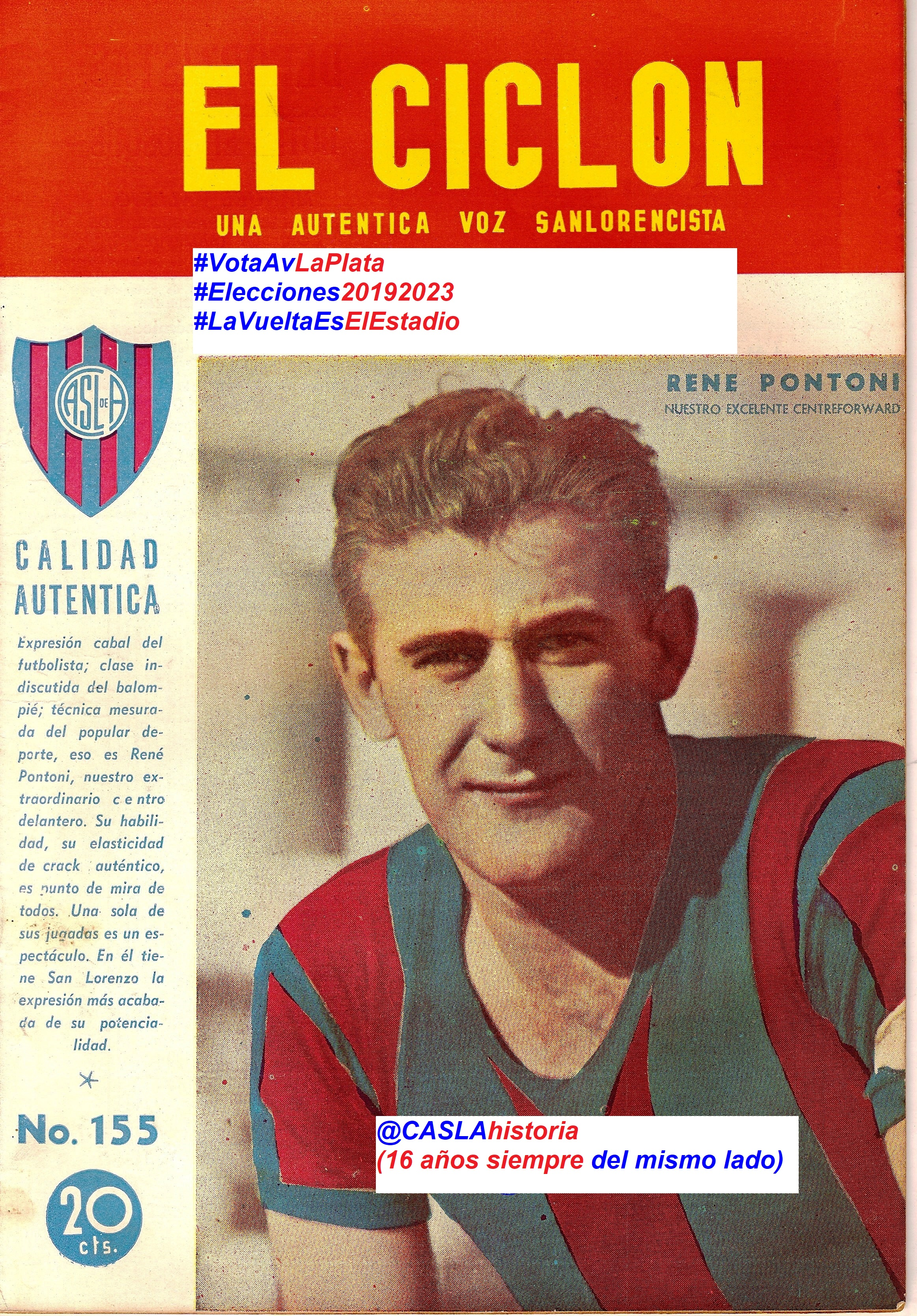 Programa N° 978. » 80 años del debut de Langara, Pontoni,Larrandart y la gira a Peru».
