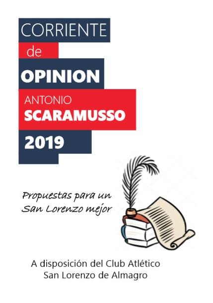 Programa N° 999. «Emisión Especial  con  Propuestas para un San Lorenzo Mejor».