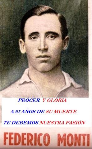 Homenaje a Federico Monti !!!!