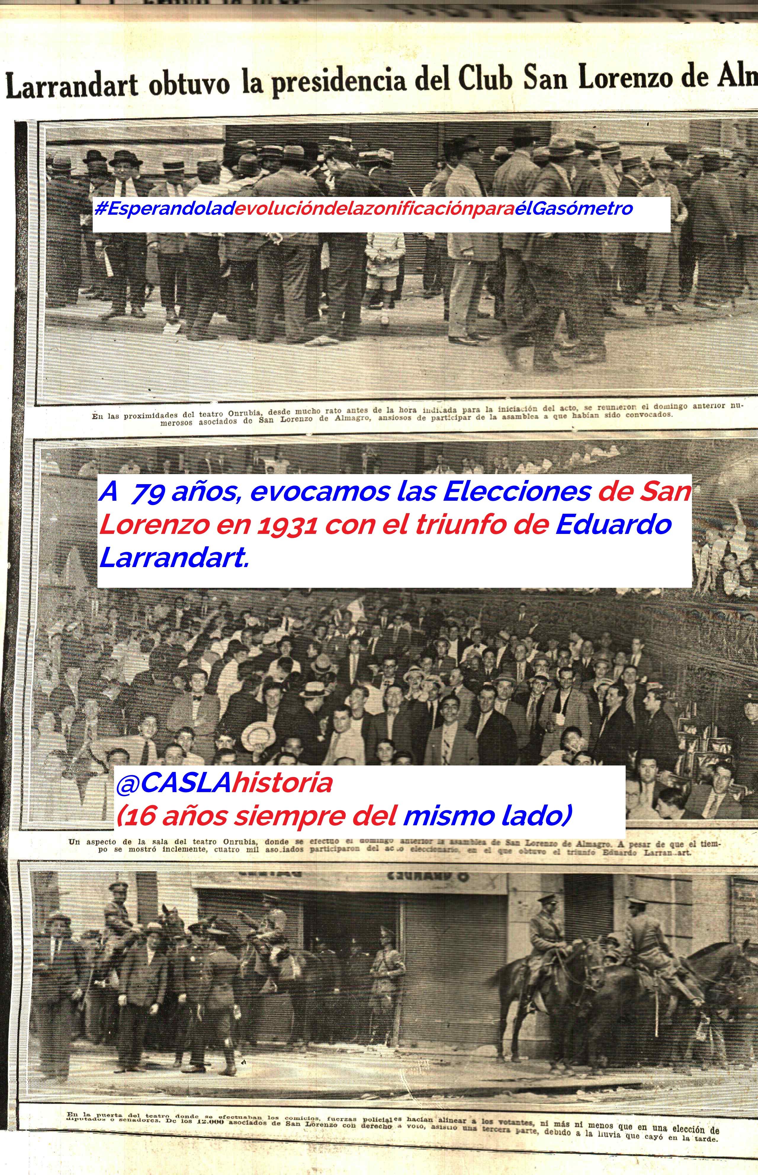 Programa N° 1011. «La gira 1949-50. Xarau, Horacio Molina y Larrandart gana las elecciones»