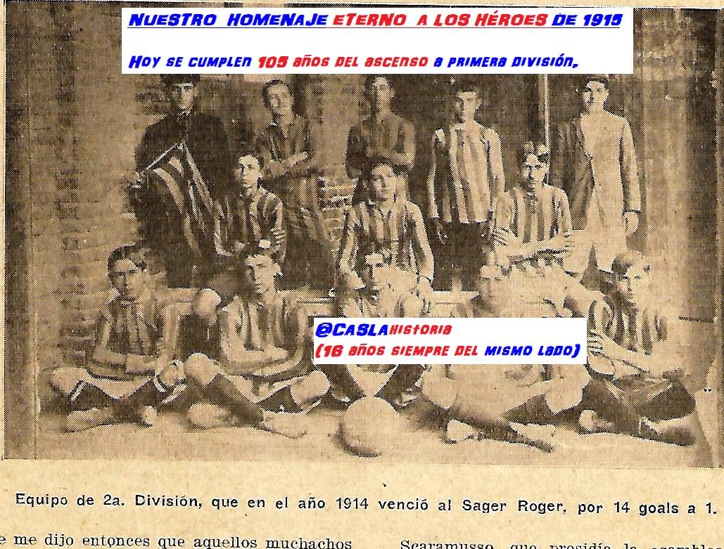 NUESTRO  HOMENAJE ETERNO  A LOS HÉROES DE 1915!!!!!