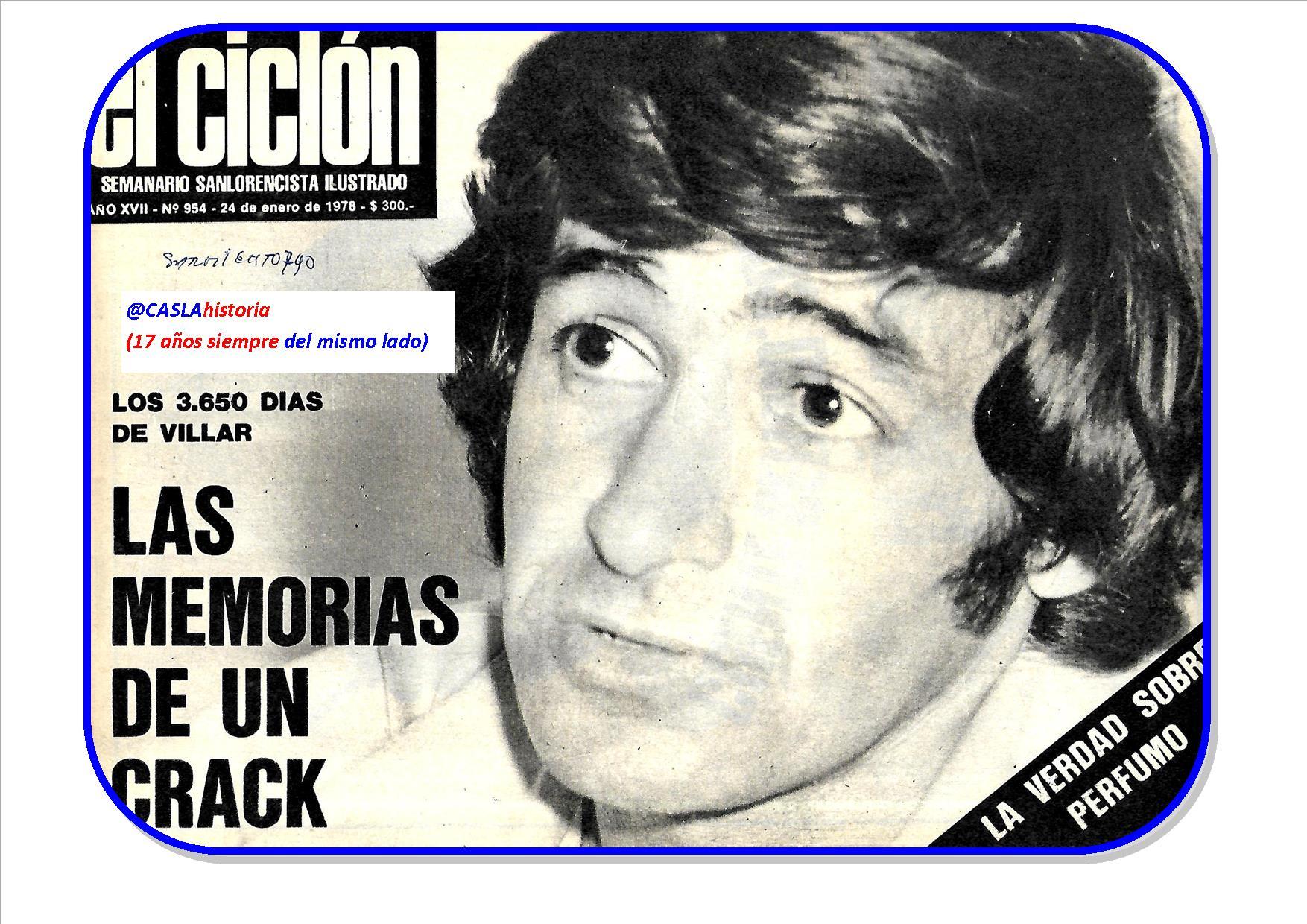 Programa N° 1025. «Los 3650 de Villar, el Robo de la Copa en 1973 y Maglio»