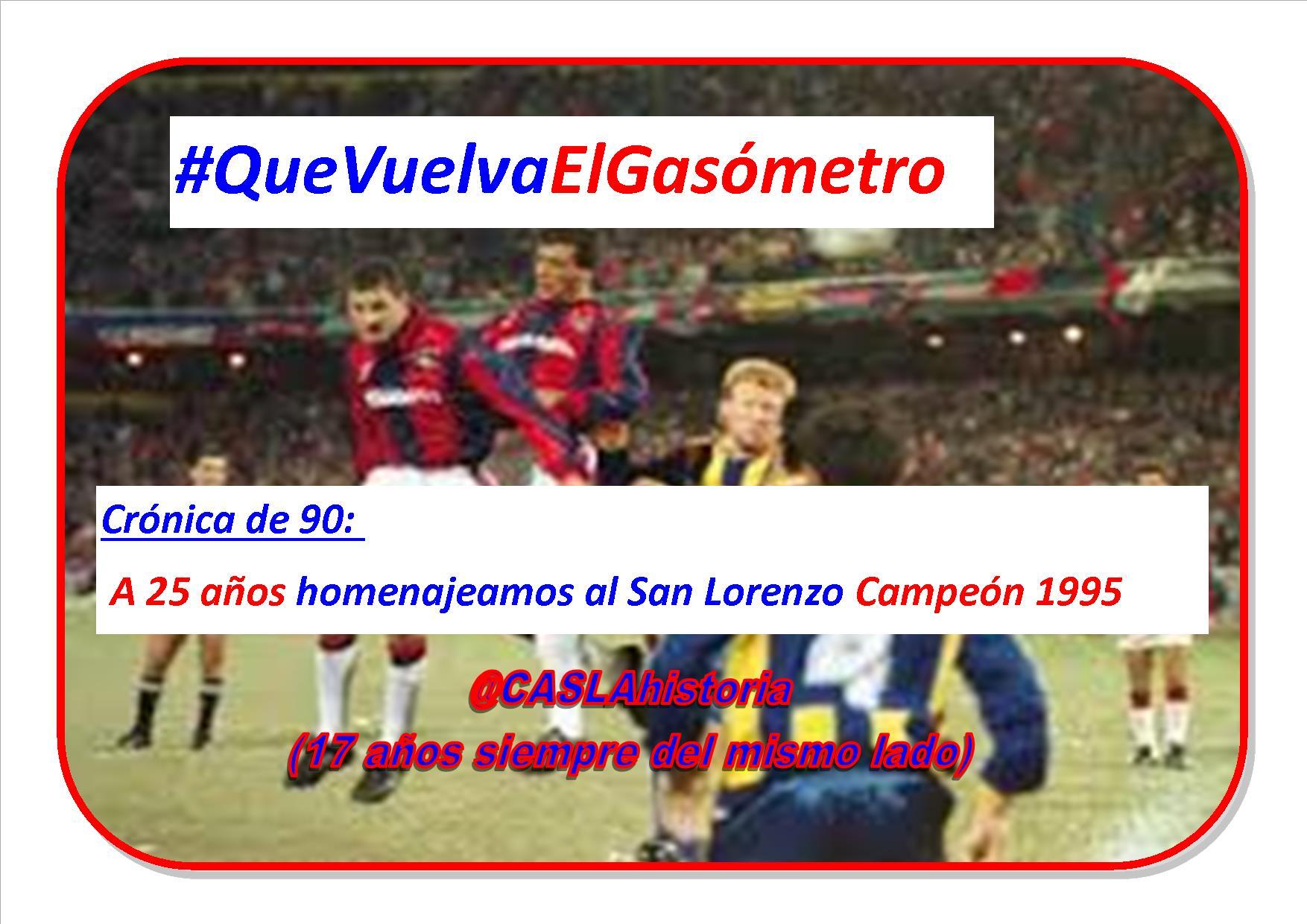 Programa N° 1033. «El Glorioso Campeón 1995,Doval,Zubieta, Trefny, desguace futbolistico»