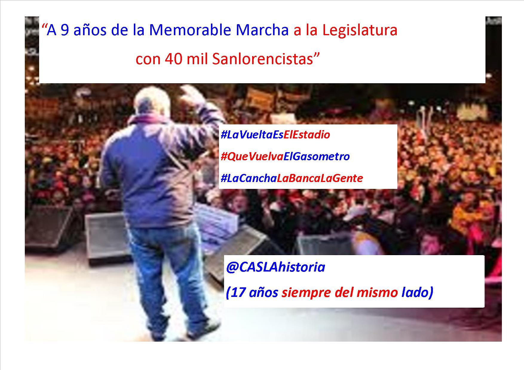 Programa Nº 1034. «9 años de la marcha de 40 mil, El Pistolero, Jorge Rinaldi y Enrique Escande»