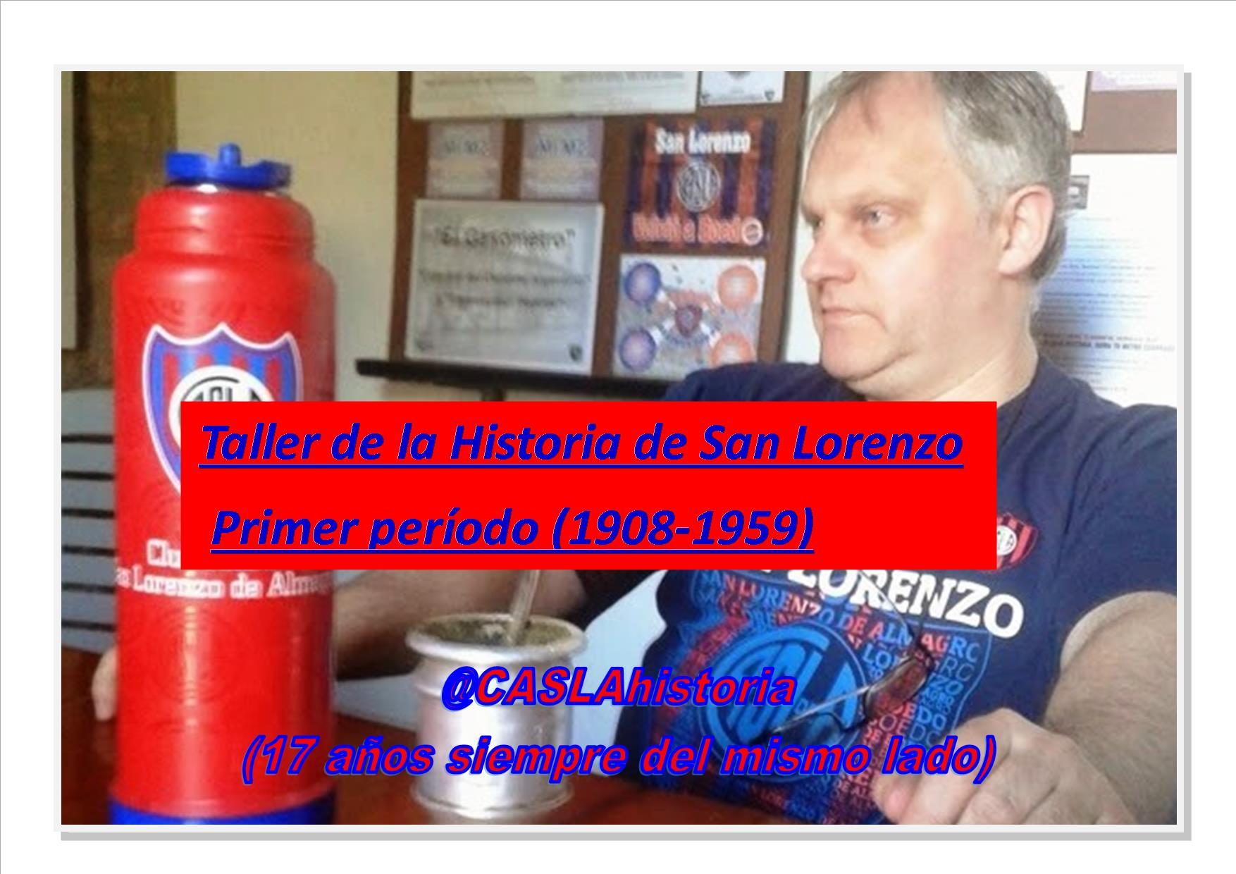 Taller de Historia CASLA !!!  Abierta la inscripción!!!!