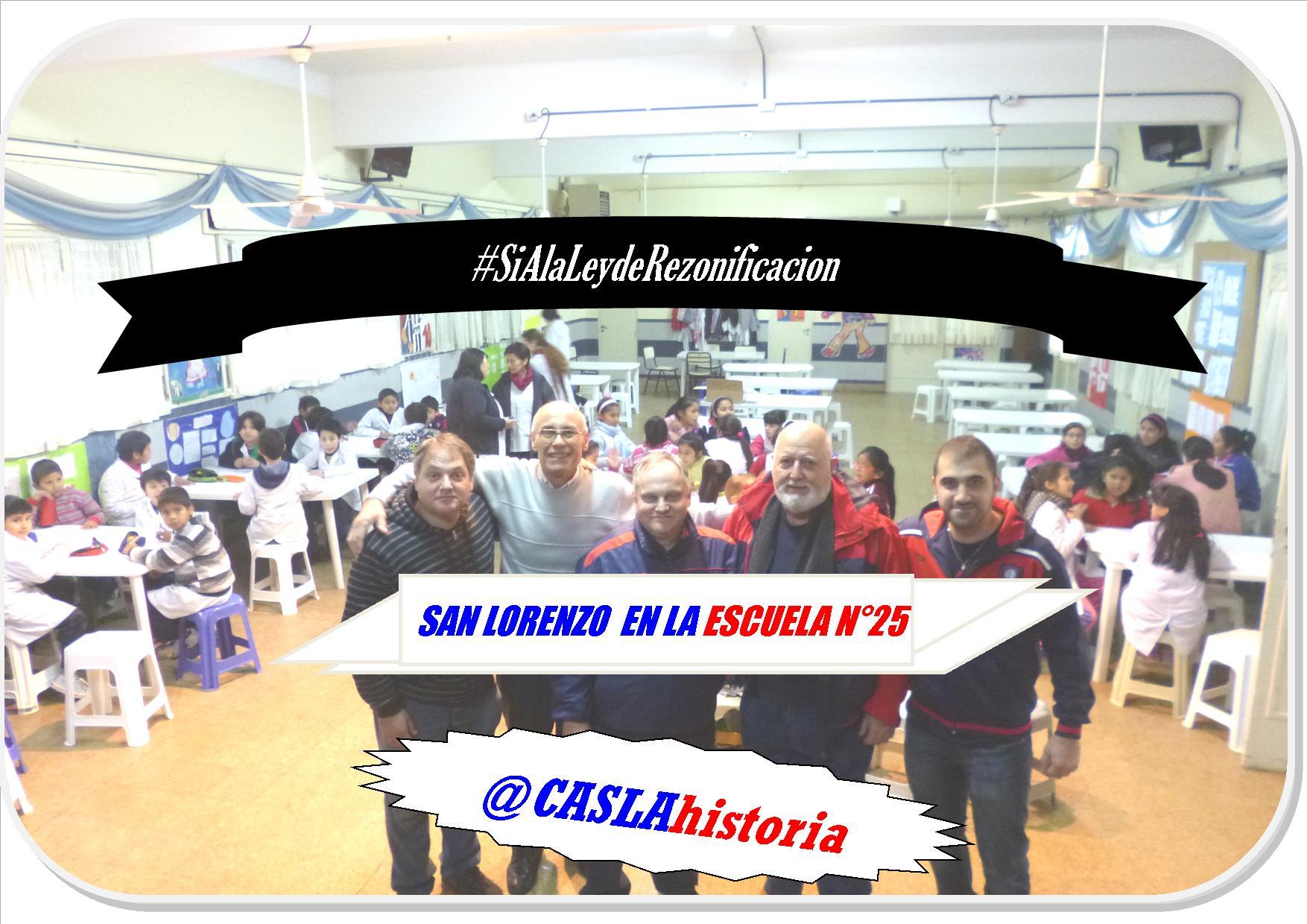 San Lorenzo en las Escuelas de Boedo!!!!