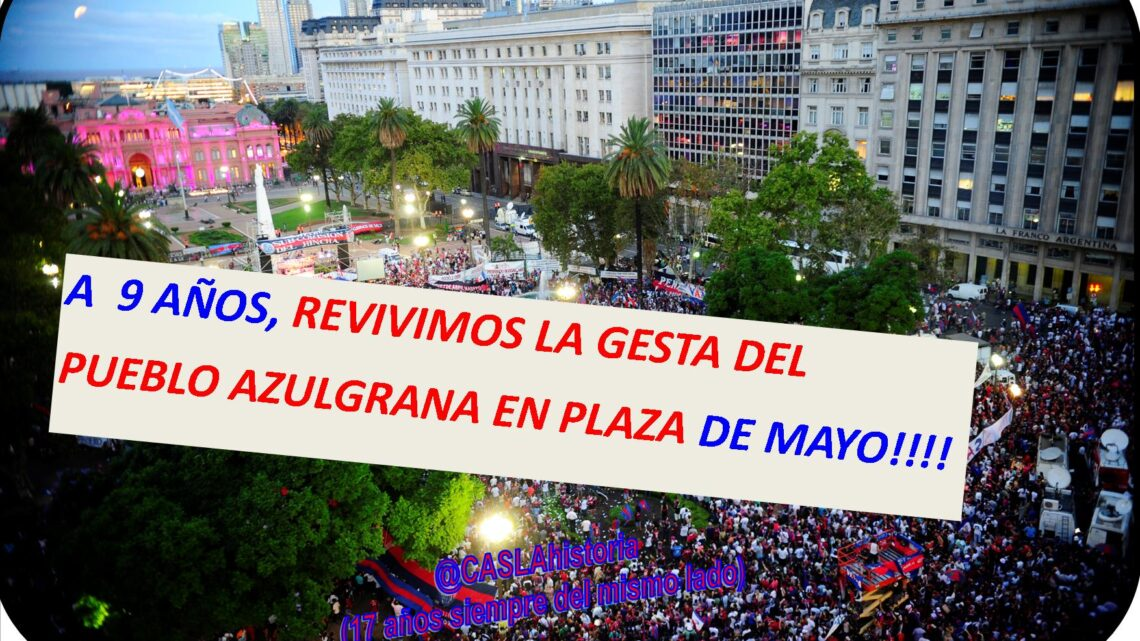 Programa N° 1087 !!!. «A 9 años de copar Plaza de Mayo y el Nacimiento de «Los Matadores»