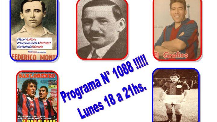 Programa N° 1088 de Lunes por www.radioamep.com.ar de 18 a 21 hs.