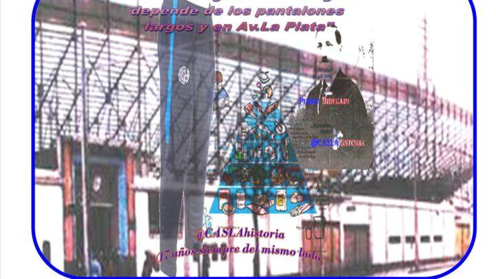 Audio del Programa N° 1087 de @CASLAhistoria. «Alimentar la grandeza azulgrana depende de los pantalones largos y en Av.La Plata»