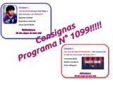 Consignas Programa N° 1099!!!