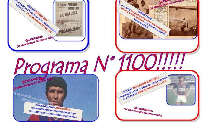 Programa N° 1100 !!!! de Lunes por www.radioamep.com.ar  de 18 a 21 hs.
