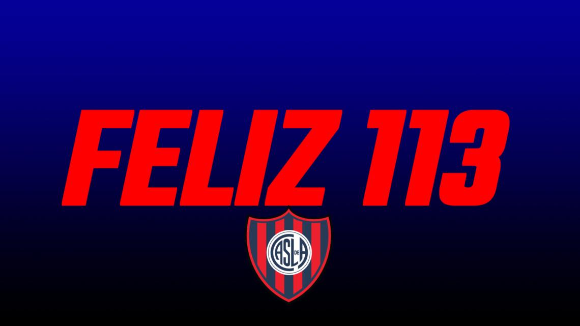 Video Feliz Cumpleaños 113 Años San Lorenzo!!!!!!