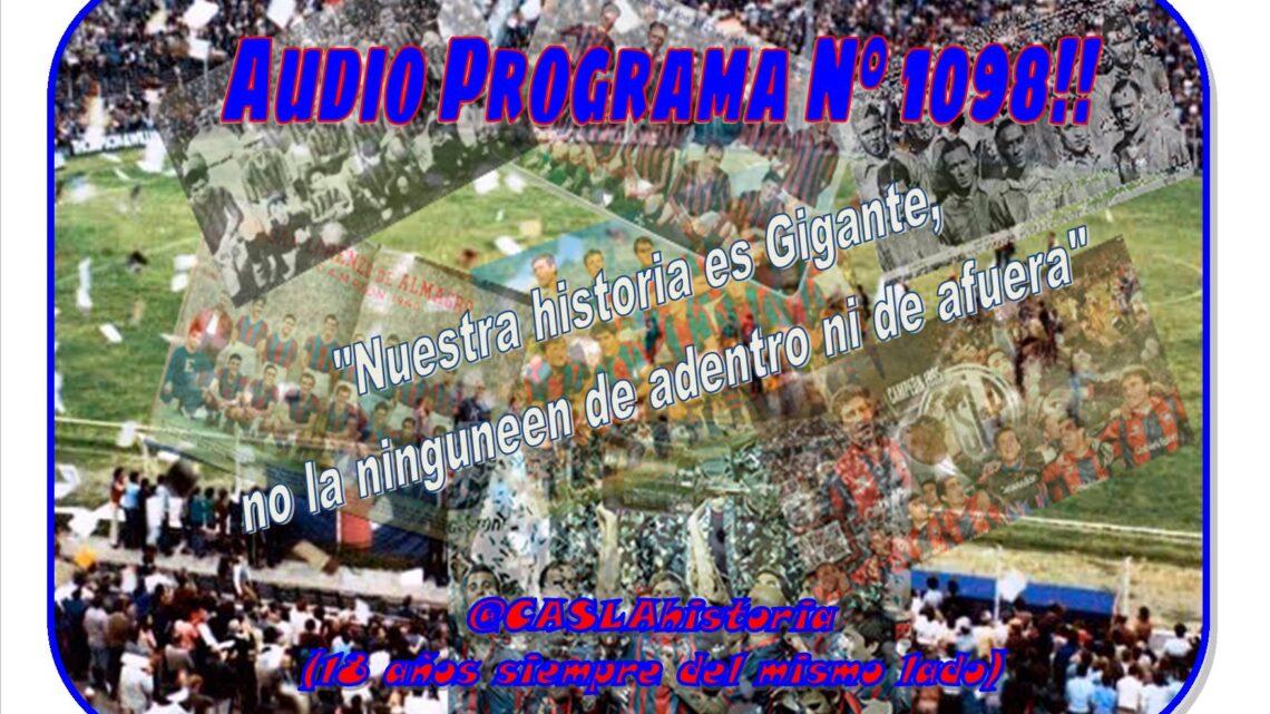 Audio Programa Nº 1098 de Lunes por www.radioamep.com.ar  «Nuestra historia es Gigante, no la ninguneen de adentro ni de afuera»