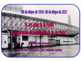 «06 DE MAYO 1916- 06 DE MAYO 2021- A 105 AÑOS DE LA INAUGURACIÓN DEL GASÓMETRO DE AVENIDA LA PLATA»