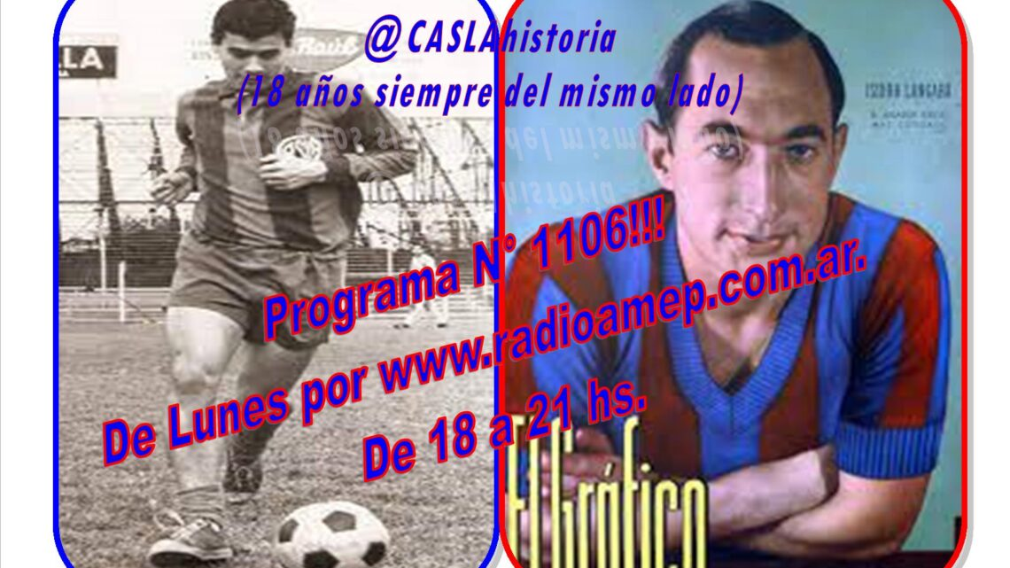 Programa N° 1106 de Lunes por www.radioamep.com.ar