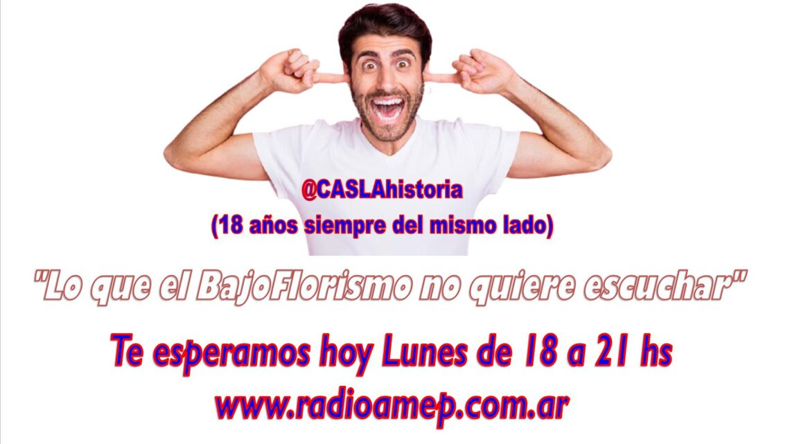 Programa N° 1110 de Lunes (18 a 21 hs).» De Baldrich, Victoria ante Racing, Pedrin, Rinaldi y Gira del Basquet a Ecuador»